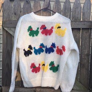 Vintage | Scottie Dog Sweater